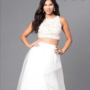 Beautiful 2 piece prom or event dress